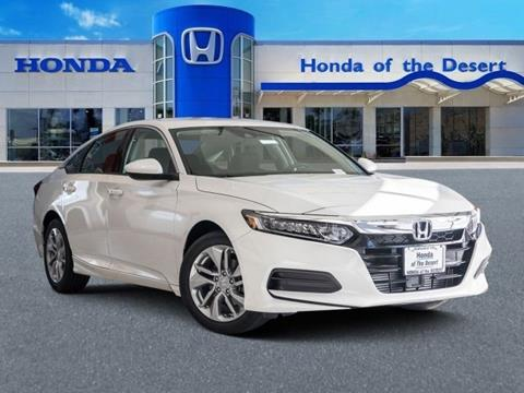 2019 Honda Accord for sale in Cathedral City, CA