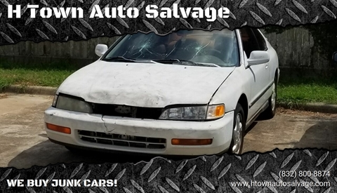 Junk Cars For Sale >> H Town Auto Salvage Junk Car Buyer In Stafford Tx