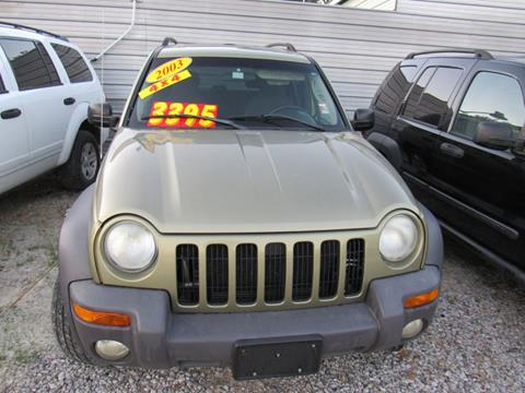 2003 Jeep Liberty Sport >> 2003 Jeep Liberty For Sale In Kansas City Mo