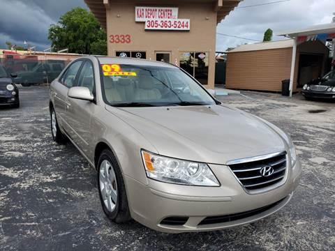 2009 Hyundai Sonata for sale in Miami, FL