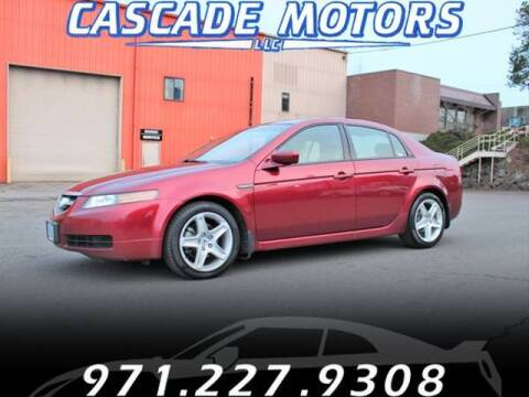 2004 Acura TL for sale at Cascade Motors in Portland OR