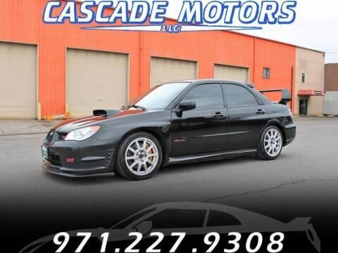 2007 Subaru Impreza for sale at Cascade Motors in Portland OR