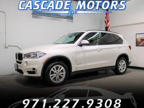 2014 BMW X5 for sale at Cascade Motors in Portland OR