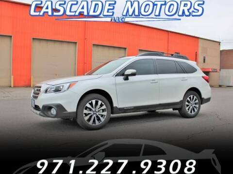 2015 Subaru Outback for sale at Cascade Motors in Portland OR