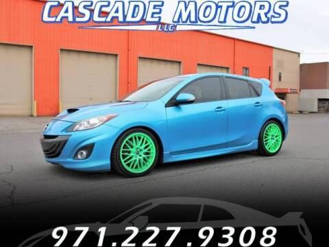 2011 Mazda MAZDASPEED3 for sale at Cascade Motors in Portland OR