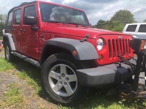 2011 Jeep Wrangler Unlimited for sale in Cherryville, PA