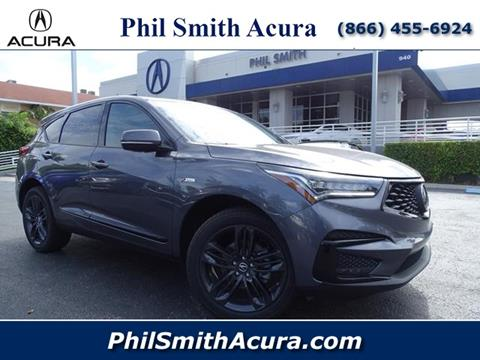 2020 Acura RDX for sale in Pompano Beach, FL