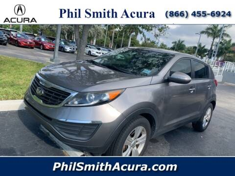 2013 Kia Sportage LX for sale at Phil Smith Acura in Pompano Beach FL
