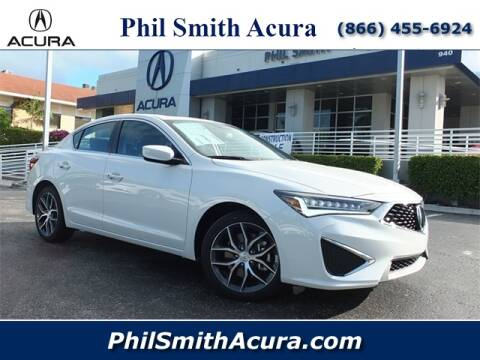 2020 Acura ILX for sale at Phil Smith Acura in Pompano Beach FL