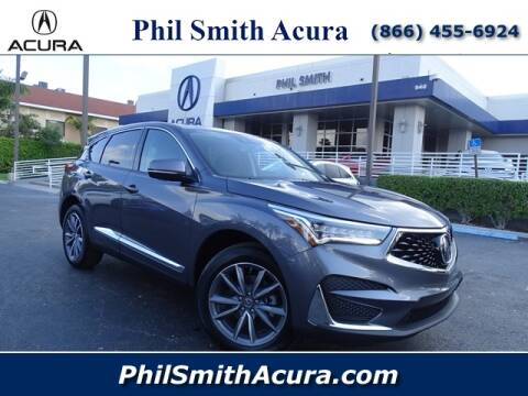 2020 Acura RDX w/Tech for sale at Phil Smith Acura in Pompano Beach FL