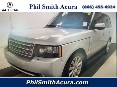 2012 Land Rover Range Rover Supercharged for sale at Phil Smith Acura in Pompano Beach FL