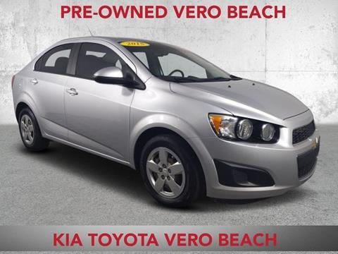 2015 Chevrolet Sonic for sale in Vero Beach, FL