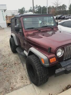 2004 Jeep Wrangler for sale in Southern Pines, NC