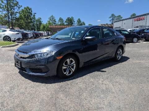 2017 Honda Civic LX for sale at Pinehurst Nissan Kia in Southern Pines NC