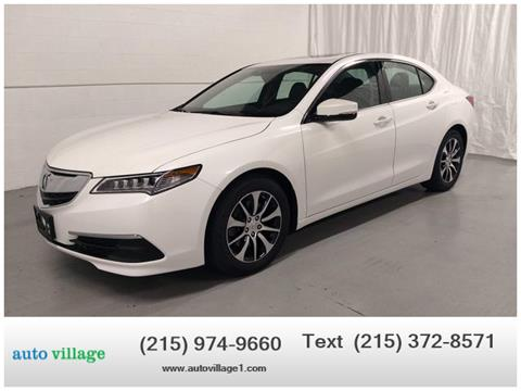 2015 Acura TLX for sale in Huntingdon Valley, PA