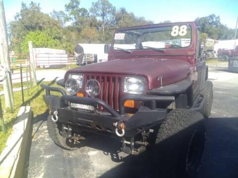 1988 Jeep Wrangler for sale in Hernando, FL