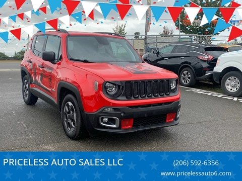 2018 Jeep Renegade for sale in Federal Way, WA
