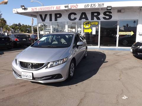 Honda Civic For Sale In La Mesa Ca Vip Cars