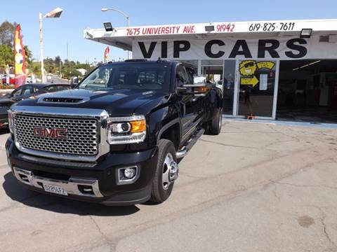2017 GMC Sierra 3500HD for sale in La Mesa, CA