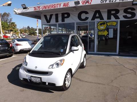 2009 Smart fortwo for sale in La Mesa, CA