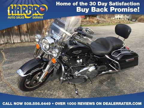 2017 Harley-Davidson Road King for sale in Whitinsville, MA