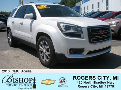 2016 GMC Acadia for sale in Rogers City, MI