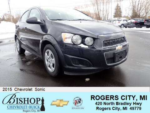 2015 Chevrolet Sonic for sale in Rogers City, MI