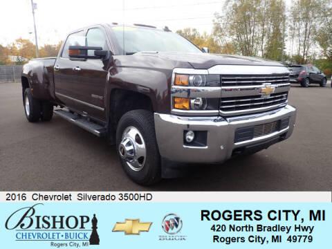 2016 Chevrolet Silverado 3500HD for sale in Rogers City, MI