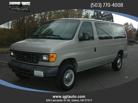 2004 Ford E-Series Wagon for sale in Salem, OR