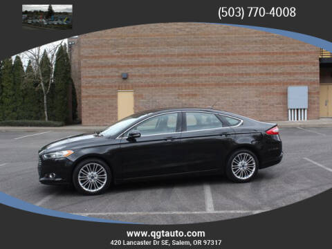 2014 Ford Fusion SE for sale at Quality Grand Turismo Auto Center in Salem OR