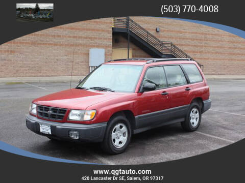 1999 Subaru Forester L for sale at Quality Grand Turismo Auto Center in Salem OR