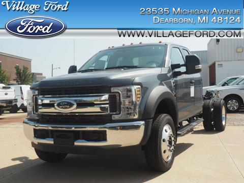 2018 Ford F-450 Super Duty for sale in Dearborn, MI