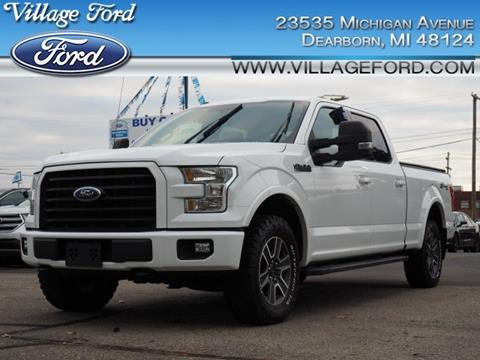 2016 Ford F-150 XLT for sale at VILLAGE FORD INC in Dearborn MI