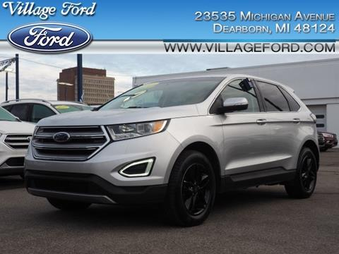 2017 Ford Edge SEL for sale at VILLAGE FORD INC in Dearborn MI