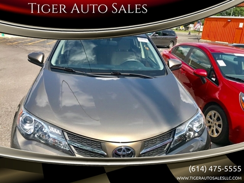 Tiger Auto Sales >> Toyota Rav4 For Sale In Columbus Oh Tiger Auto Sales