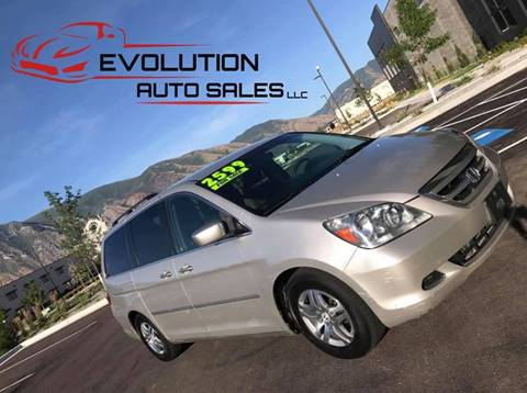 2005 Honda Odyssey for sale at Evolution Auto Sales LLC in Springville UT
