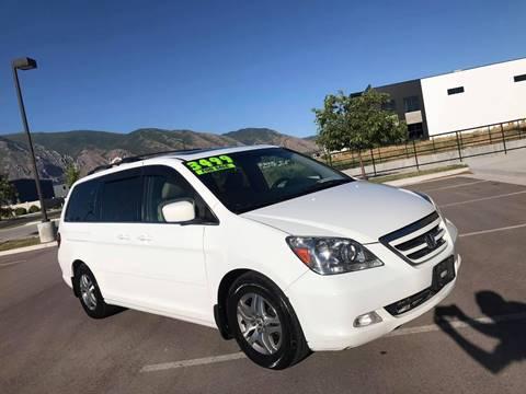 2006 Honda Odyssey for sale at Evolution Auto Sales LLC in Springville UT