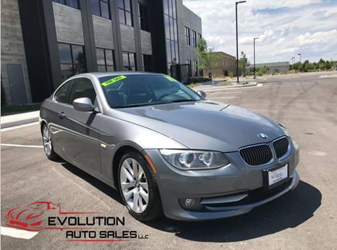 2011 BMW 3 Series for sale in Springville, UT