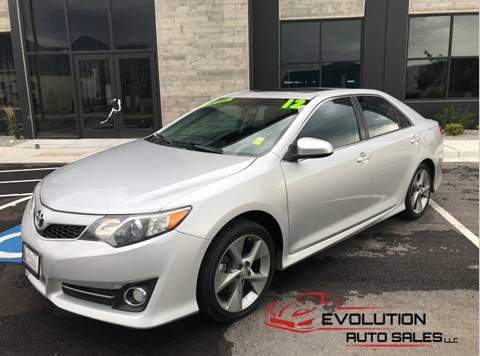 2012 Toyota Camry for sale at Evolution Auto Sales LLC in Springville UT