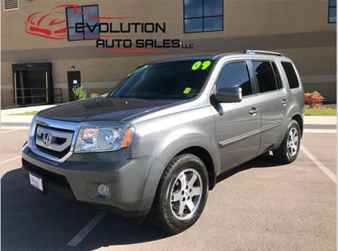 2009 Honda Pilot for sale at Evolution Auto Sales LLC in Springville UT