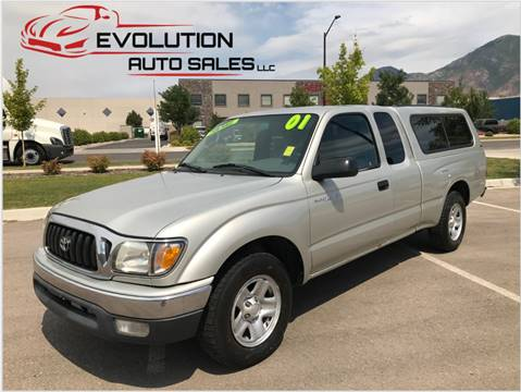 2001 Toyota Tacoma for sale at Evolution Auto Sales LLC in Springville UT