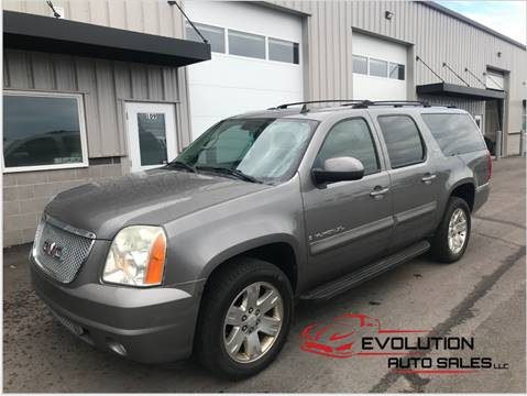 2007 GMC Yukon XL for sale at Evolution Auto Sales LLC in Springville UT