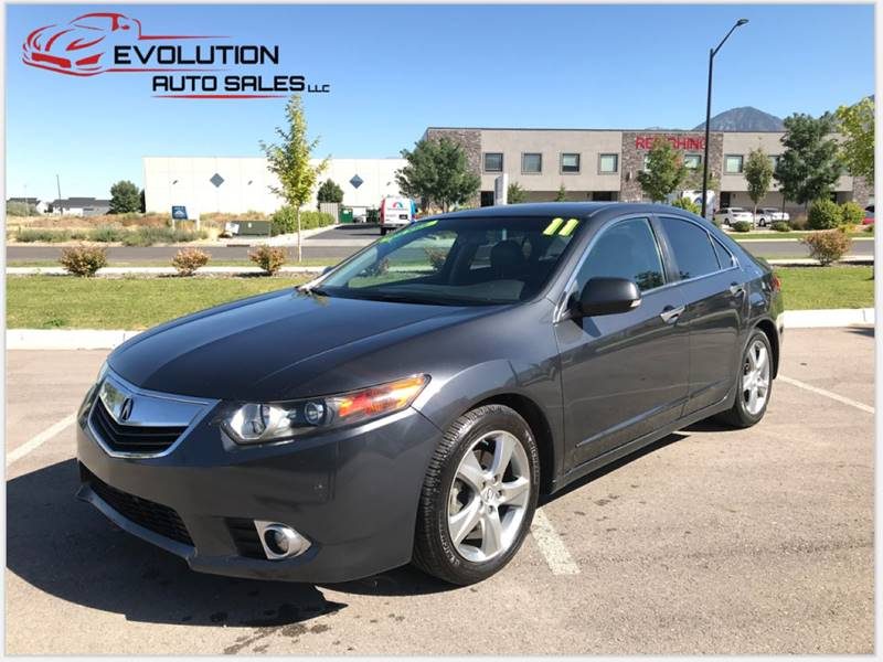2011 Acura TSX for sale at Evolution Auto Sales LLC in Springville UT