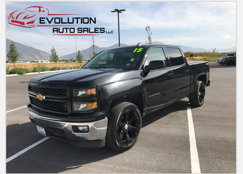 2015 Chevrolet Silverado 1500 for sale at Evolution Auto Sales LLC in Springville UT