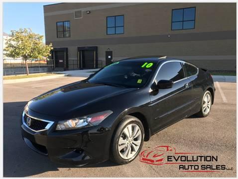 2010 Honda Accord for sale at Evolution Auto Sales LLC in Springville UT