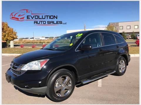 2010 Honda CR-V for sale at Evolution Auto Sales LLC in Springville UT