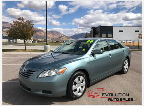 2009 Toyota Camry for sale at Evolution Auto Sales LLC in Springville UT