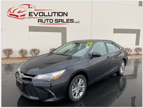 2015 Toyota Camry for sale at Evolution Auto Sales LLC in Springville UT