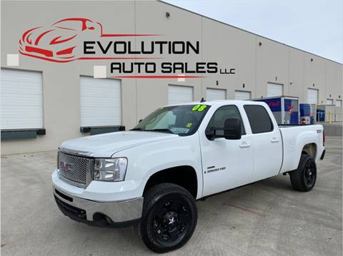 2008 GMC Sierra 2500HD for sale at Evolution Auto Sales LLC in Springville UT