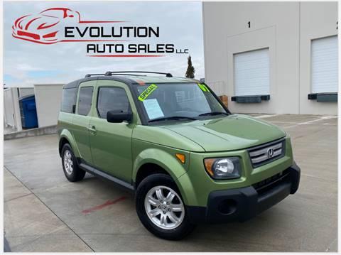 2007 Honda Element for sale at Evolution Auto Sales LLC in Springville UT